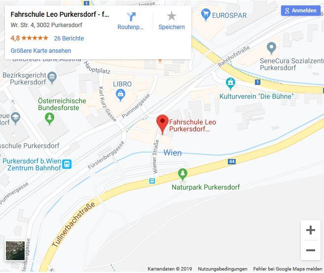 zu google maps